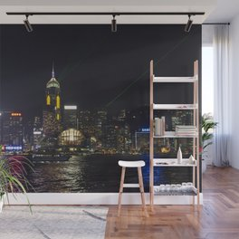 Hong Kong Symphony of Lights Wall Mural