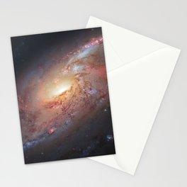 Spiral Galaxy M 106 Stationery Cards