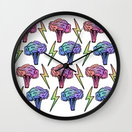 Veggie Power! Wall Clock