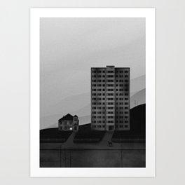 Empty Streets Art Print