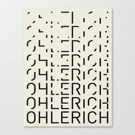 Ohlerich Speicher Transformation Canvas Print