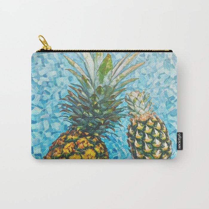 Be a Pinapple V2 #society6 #decor #buyart Carry-All Pouch
