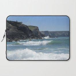 White Surf 01 Laptop Sleeve