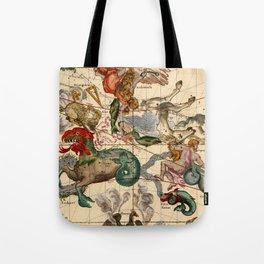 Constellation Chart 1693b Tote Bag