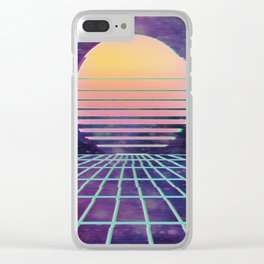 Vaporwave.exe Clear iPhone Case