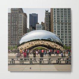 USA Photography - Chicago Millennium Park Metal Print