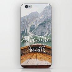 Live the Adventure - Adventure Awaits iPhone Skin