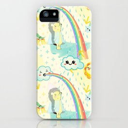 April cuteness iPhone Case