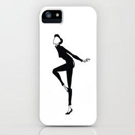 Funny Face | Fashion Illustration iPhone Case