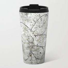 Sidewalk Flower Travel Mug