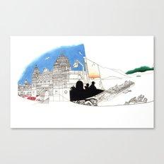 'CANADA' PART 1 OF 10* Canvas Print