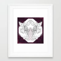 chakra Framed Art Prints featuring Chakra by Wild Athena
