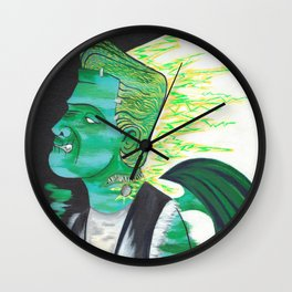 Mind for the Mistress Wall Clock