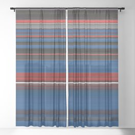 Punch Out - Swipe Sheer Curtain