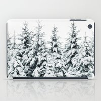 snow iPad Cases featuring Snow Porn by Tordis Kayma