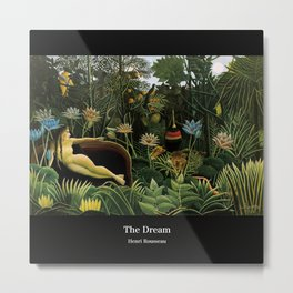 "Henri Rousseau "" The Dream "" Metal Print"