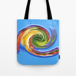 The whirl of life, W1.9C Tote Bag