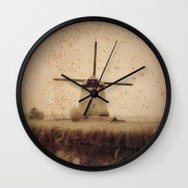 Vintage Mill Wall Clock