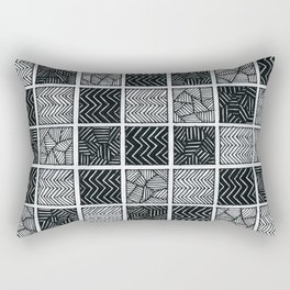 Checkered pattern Rectangular Pillow