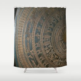 Vitenamese Gong Shower Curtain