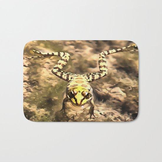Swimming Frog Bath Mat