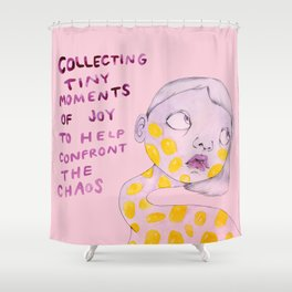 chaos Shower Curtain