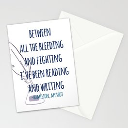 READING AND WRITING | HAMILTON Stationery Cards