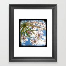 Look Up - Through The Viewfinder (TTV) Framed Art Print