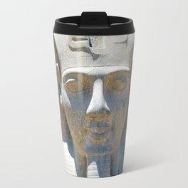 Head of Ramesses II, Luxor temple, Egypt Travel Mug