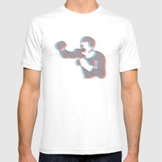 Boxing Ali (coulour) Mens Fitted Tee 2X-LARGE White