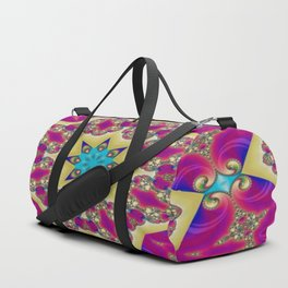 Guardians Of The Void Mandala 6 Duffle Bag