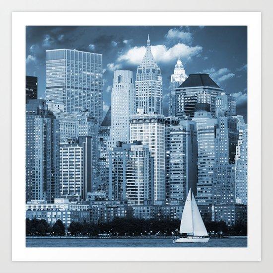 Manhattan (New York, NY, USA) Art Print