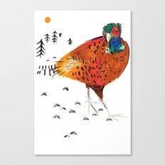 Mr Pheasant Canvas Print