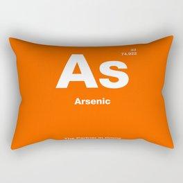 Arsenic Rectangular Pillow