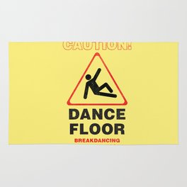 Cuation: breakdancing Rug