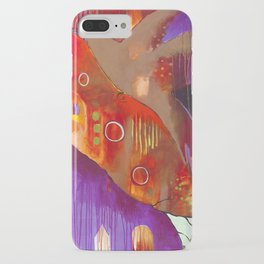 """Reflect You"" Original Painting by Flora Bowley iPhone Case"