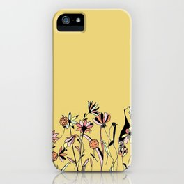 NEEDING SPRING iPhone Case