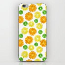 Citrus medley! Oranges, lemons, and limes.  iPhone Skin