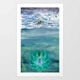 The Mariner Art Print
