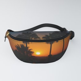 California Sunset Fanny Pack