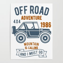 offroad adventure Poster