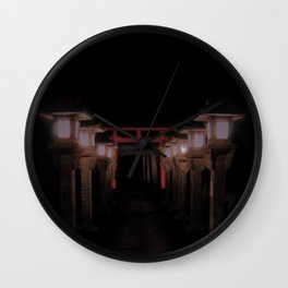 The Light Within (Kyoto, Japan) Wall Clock