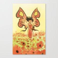 Goblins Drool, Fairies Rule! - Poppy Smock Canvas Print
