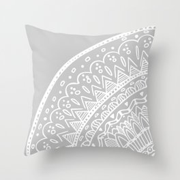 Circle Mandala Throw Pillow