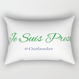Je Suis Prest #Outlander Rectangular Pillow