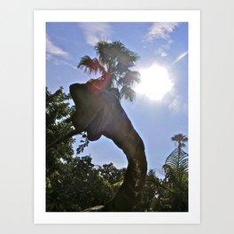 Jurassic Voyage II. Art Print