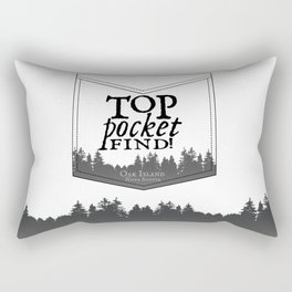 Top Pocket Find - Oak Island Rectangular Pillow
