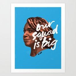 Ayanna Pressley (squad) Art Print