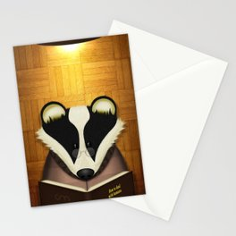 Badger Reading Stationery Cards