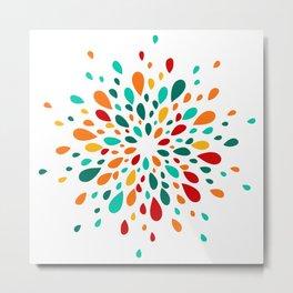 bright multi-colored spots Metal Print
